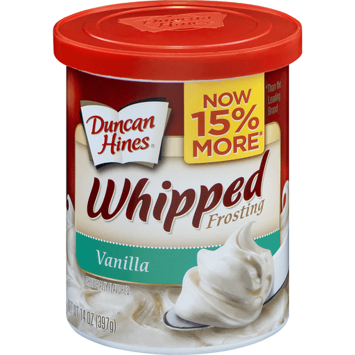 Duncan Hines Frosting, Whipped, Vanilla