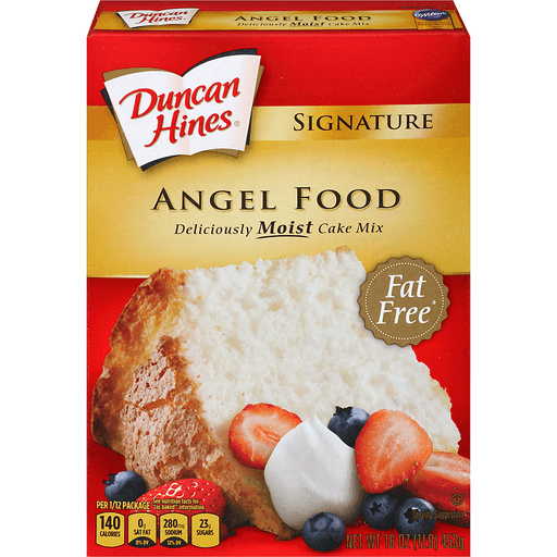 Duncan Hines Signature Cake Mix, Angel Food