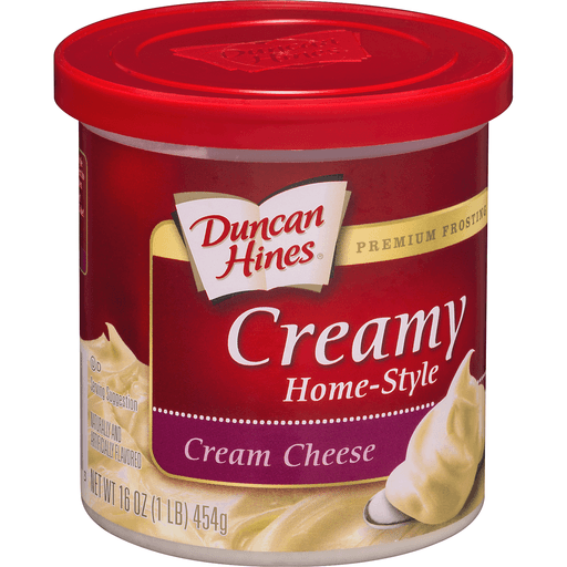 Duncan Hines Frosting, Home-Style, Creamy, Cream Cheese