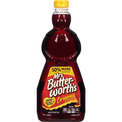 Mrs Butterworths Syrup, Original