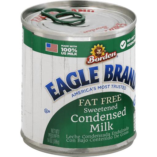 Eagle Brand Borden Fat Free Sweetened Condensed Milk Canned Dry Milk Sendik S Food Market