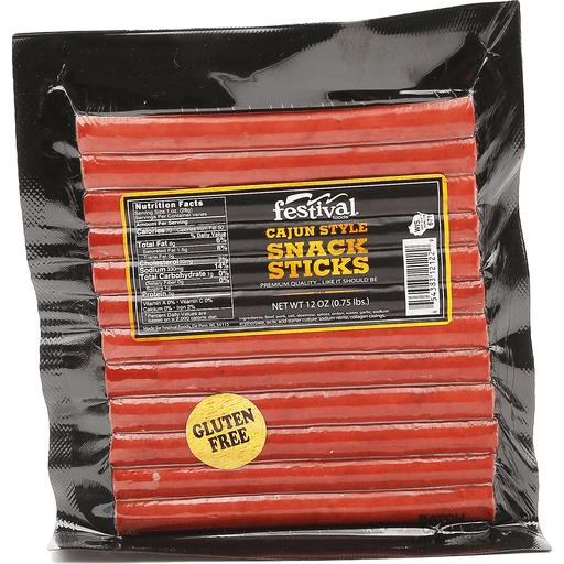 Festivals Cajun Style Snack Sticks