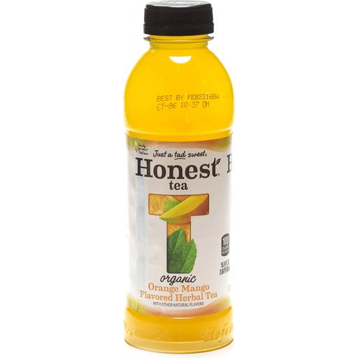 Honest Herbal Tea, Organic, Orange Mango Flavored