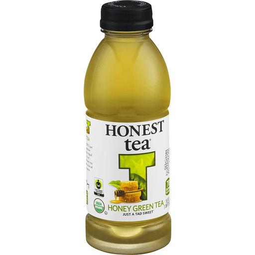 Honest Green Tea, Honey, Organic