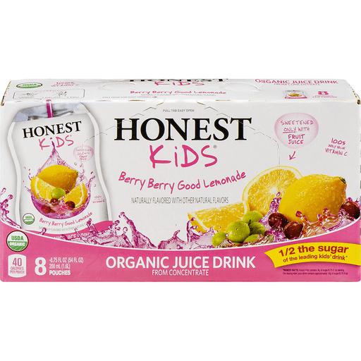 Honest Juice Drink, Organic, Berry Berry Good Lemonade