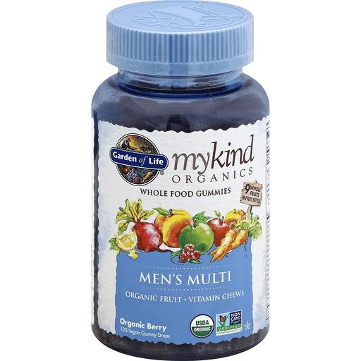 Garden Of Life Mykind Organics Men S Multi Whole Food Vegan Gummy Drops Organic Berry Shop Sendik S Food Market