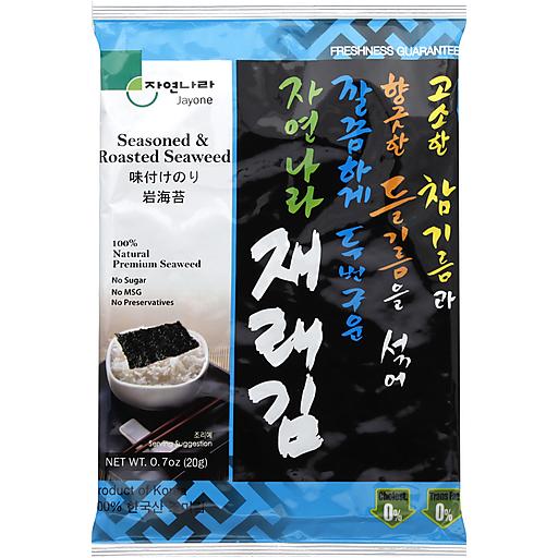 Jayone Roasted Seaweed - 4 Pk