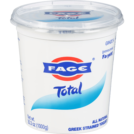 Fage Total Yogurt, Greek, Whole Milk, Strained