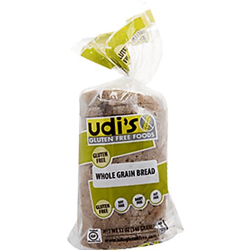 Udis Gluten Free Bread, Sandwich, Delicious Multigrain