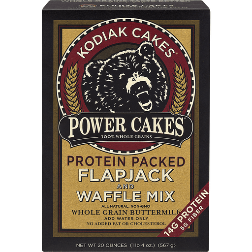 Kodiak Cakes Flapjack and Waffle Mix, Power Cakes, Protein Packed, Buttermilk