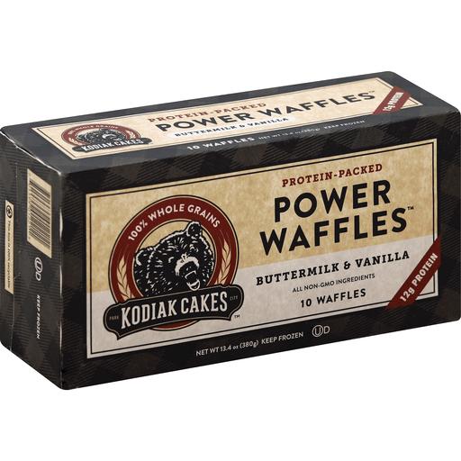 Kodiak Cakes Waffles, Power, Buttermilk & Vanilla