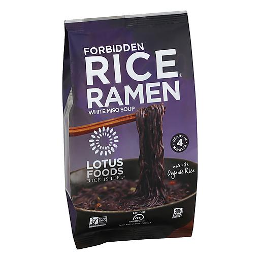 Lotus Foods Black Forbidden Rice Ramen