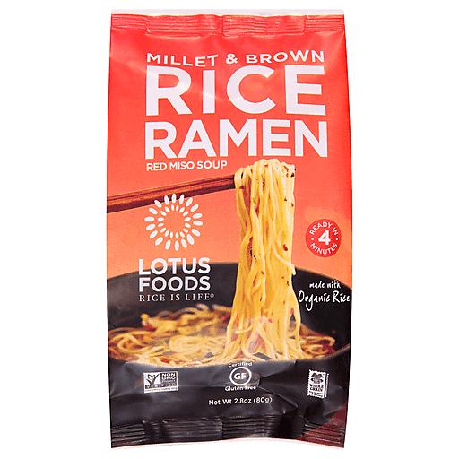 Lotus Foods Millet & Brown Rice Ramen