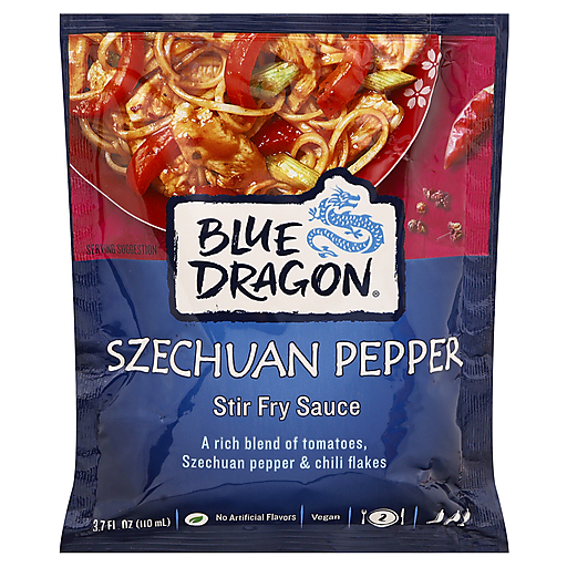 Blue Dragon Szechuan Pepper Stir Fry Sauce