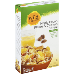 Wild Harvest Cereal Maple Pecan Flakes Clusters   Baeslers