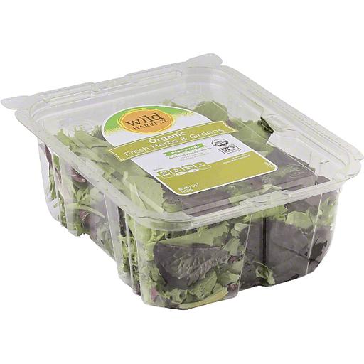 Wild Harvest Fresh Herbs & Greens, Organic