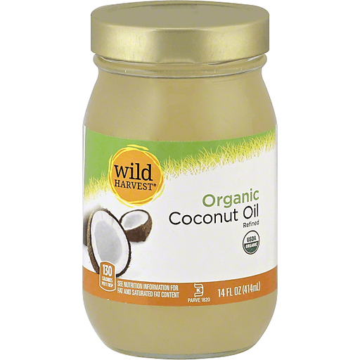 Wild Harvest Coconut Oil, Organic, Refined