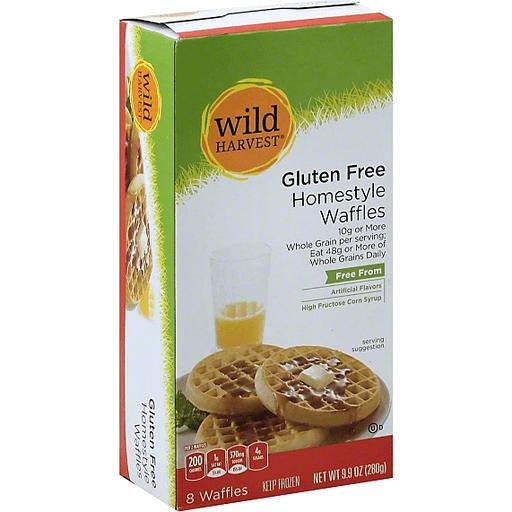 Wild Harvest Waffles, Gluten Free, Homestyle