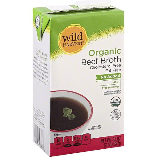 Wild Harvest Organic Broth, Beef