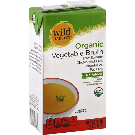 Wild Harvest Organic Broth, Vegetable