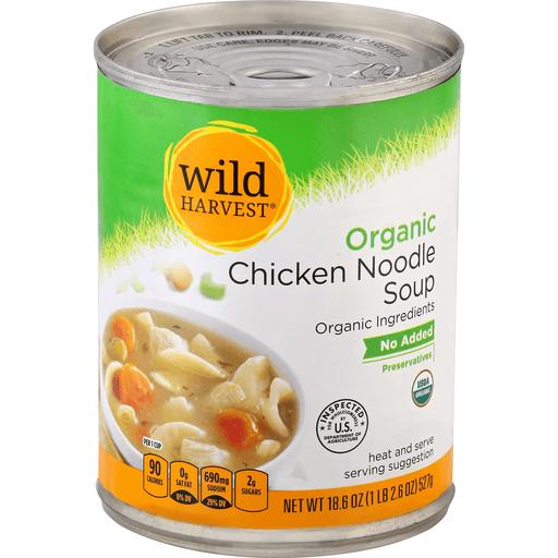 Wild Harvest Organic Soup, Chicken Noodle