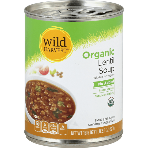 Wild Harvest Soup, Organic, Lentil