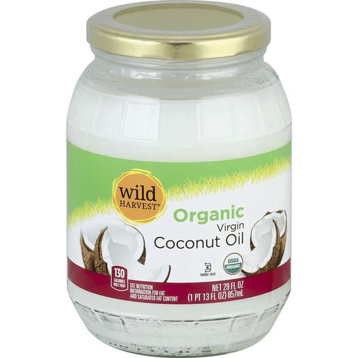 Wild Harvest Coconut Oil, Organic, Virgin