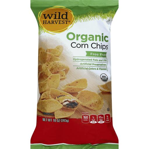 Wild Harvest Corn Chips, Organic