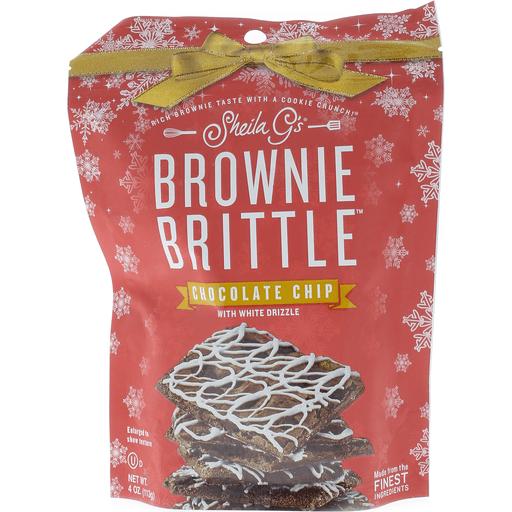 Sheila G's White Choc Chip Drizzle Brownie Brit