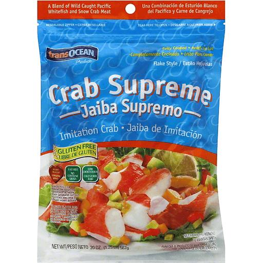 is imitation crab gluten free