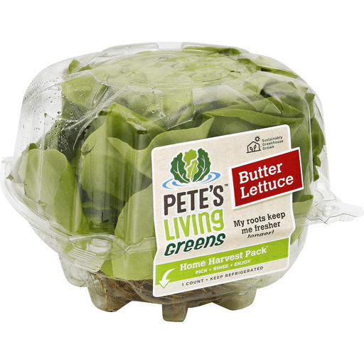Petes Living Greens Butter Lettuce Home Harvest Pack Produce Price Cutter