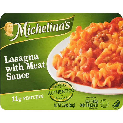 Michelinas Authentico Lasagna, with Meat Sauce