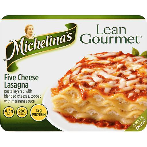 Michelinas Lean Gourmet Lasagna, Five Cheese