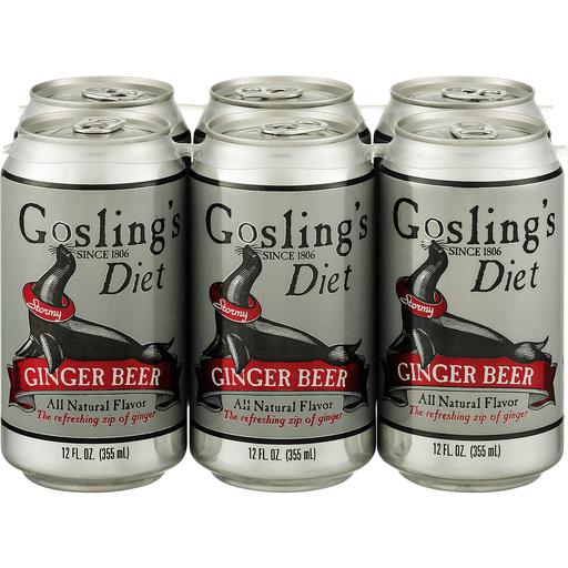 Goslings Ginger Beer, Diet