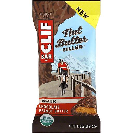 Clif Bar Nut Butter Filled Organic Chocolate Peanut Butter