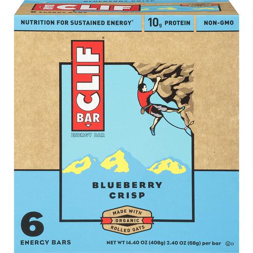 Clif Energy Bars, Blueberry Crisp