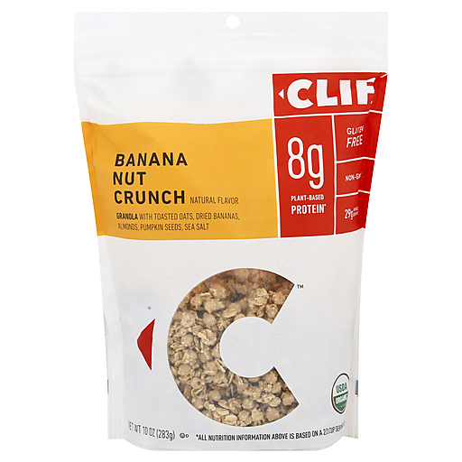 Clif Org Banana Nut Granola