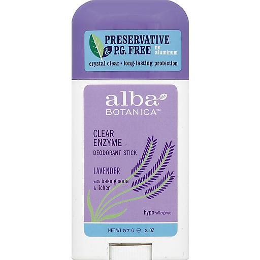Alba Botanica Alba Lavender Stick Deodorant