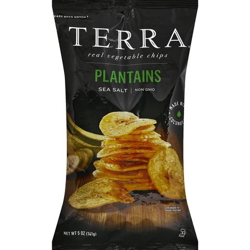 Terra Plantain Chips, Sea Salt
