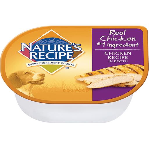 Nature's Recipe Dog Food Chicken Recipe In Broth