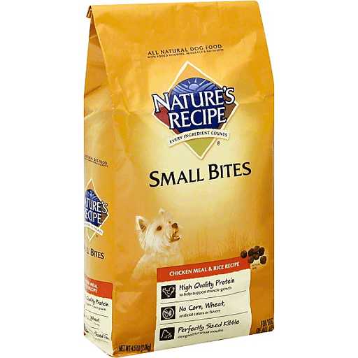 Natures Recipe Dog Food, Chicken Meal
