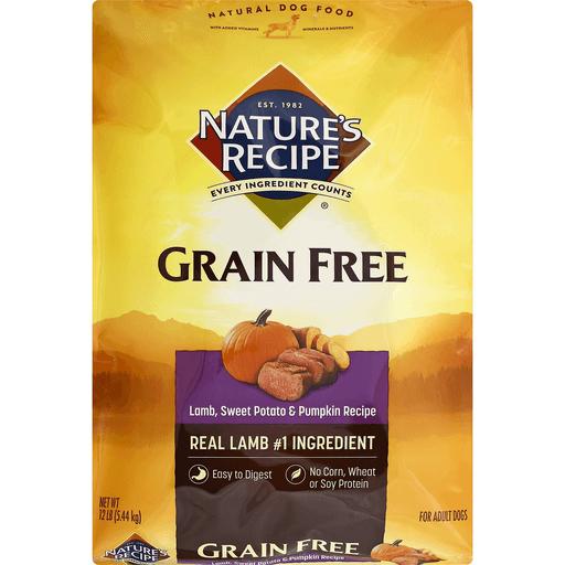 Natures Recipe Dog Food, Grain Free