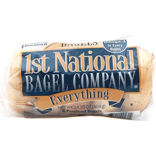 1st National Everythng Bagel