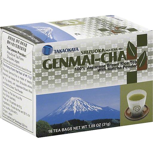 Takaokaya Tea Bag - Shizuoka Matcha Genmai