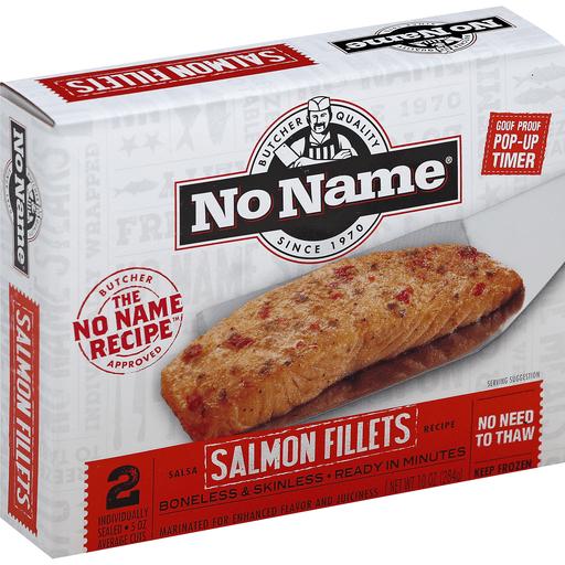 No Name Salmon Fillets, Boneless & Skinless, Salsa Recipe