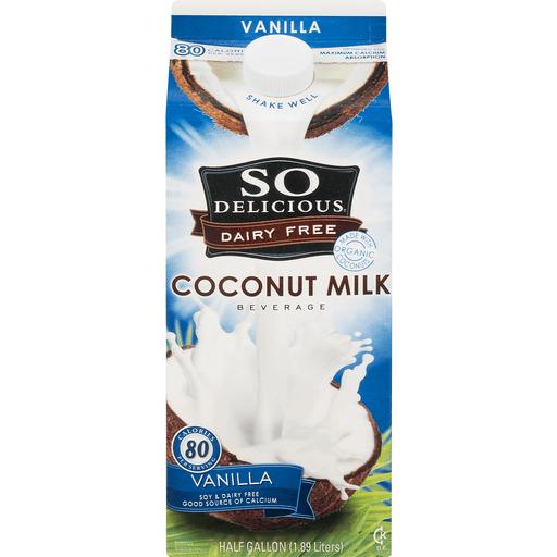 So Delicious Coconut Milk Beverage, Organic, Vanilla