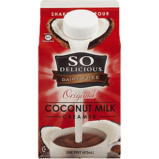So Delicious Creamer, Coconut Milk, Original