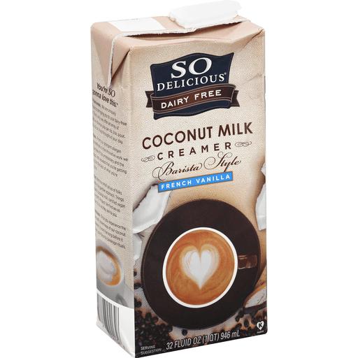 Barista Style Coconut Milk Creamer