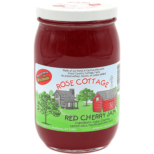 Rose Cottage Red Cherry Spread