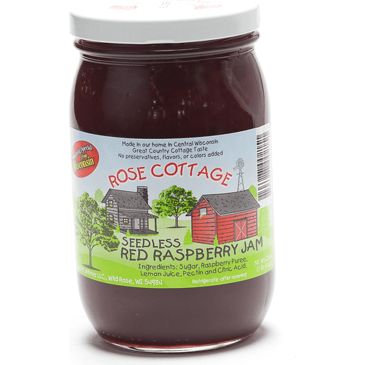 Rose Cottage Seedless Raspberry Jam